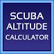 Scuba Altitude Diving Calc by Novaroma Design