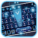 Blue Circuit Technology Keyboard Theme by Luxury Keyboard Theme