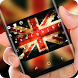 UK Keyboard England Flag by Super Hot Themes Design Studio