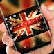 UK Keyboard England Flag by Super Hot Themes Design Studio