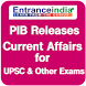 PIB India GK Current Affairs for UPSC Exams by Forwardbrain Solutions Pvt. Ltd.