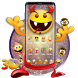 3D emoji lovely theme by 3dthemecoollauncher