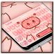 Pink Piggy Keyboard Theme by Cool Themes and art work