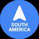 Navigation South America by Navigation Maps