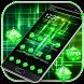 Green Laser Light Theme