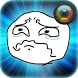 Troll Face Photo Sticker by lynapps