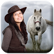 Horse Photo Frame by Photo Kindle