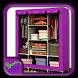Portable Wardrobe Closet by Syclonapps