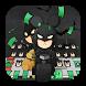 Bat hero cute keyboard by Bestheme Boutique keyboard
