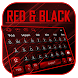 Red Black keyboard Theme