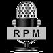 Acoustic Tachometer (RPM) by Javier Yáñez