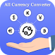 All Currency Converter and Real Time Exchange Rate