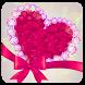 Pink Diamond Bowknot Heart Rose Theme by Alice Creative Studio