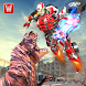 Superhero Robot vs Dino: Incredible Monster Battle by Warm Milk Productions