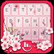 Cherry Blossom Keyboard Theme by Fashion Cute Emoji