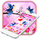 Cute Love Birds theme and Live wallpaper by android themes & Live wallpapers