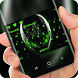 Green Alien HD Wallpapers Photo Keyboard by Super Hot Themes Design Studio