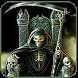 Dark Gothic Skull by alicejia2017