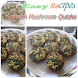 Spinach Mushroom Quiche by one create