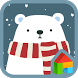The polar bear & Star Dodol by iconnect for Phone themeshop