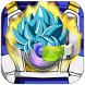 Super Saiyan Blue Hair Editor by Ultimative Developer Face Whats 2016