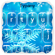 Snowflakes Typany Keyboard by Cool Themes and art work
