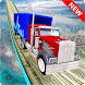 Impossible Truck Stunt Tracks Driver by Coding Squares