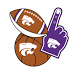 Kansas State Wildcats Selfie Stickers by 2Thumbz, Inc