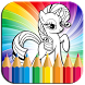 Coloring Book Little Pony by Silver4apps