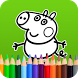 Pepy Pig Coloring & Painting by PeppaPO