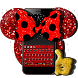 Mini Mouse Classic Keyboard Theme