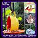 Adorable DIY Birdseed Wreath Tutorial by Executive Live