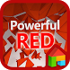 Powerful RED dodol theme by Camp Mobile for dodol theme