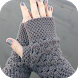 Crochet Fingerless Gloves by Manisha Gosar