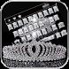 Diamond Crown Keyboard Theme by Locker Themes Center