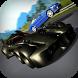 Racing on Batmobile 3D by Necrosoft Entertement