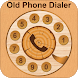 Old Phone Dialer : Vintage Call Dialer Keyboard