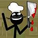 Stickman Bloody Chef by Valerii Studio