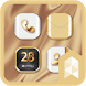 Gold Wallpaper Launcher theme by SK techx for themes