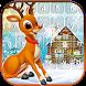Red Nose Reindeer Emoji Keyboard by Sweet Princess Games