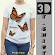 Tshirt 3D Design by PajrApp