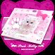 Pink Kitty Theme&Emoji Keyboard by Cool Keyboard Theme Design