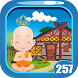 Cute Baby Buddha Rescue Game Kavi - 257 by Kavi Games