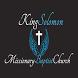 King Solomon Missionary by Kingdom, Inc