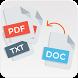 PDF Converter - word docs file , image , text