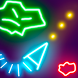 Glow Asteroids Shooter by Evgeny Onyanov
