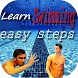 learn swimming easy steps by says ahmed