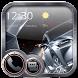 Cool car Theme Lock screen 3D sports car