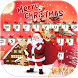 Merry Christmas Keyboard Theme by Fantasy Keyboard studio