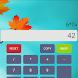 Autumn Calculator by Kvisaz Games